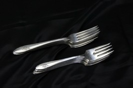 Oneida Queen Bess Dinner and Salad Forks Lot of 14 - $32.29