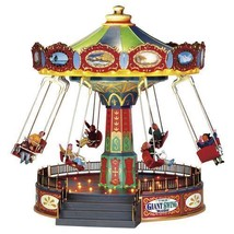 Lemax Village Collection The Giant Swing Ride Village Carnival Ride # 44765 - ₨6,317.21 INR