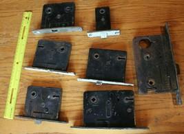 Mortise Lock Lot of 7 Vintage door locks Skeleton key Russwin Norwalk Sa... - $79.94