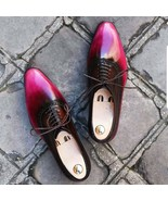 Handmade Best Leather Oxfords Dress Shoes, Custom Made Formal Shoes For Men - $159.99+