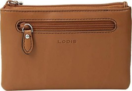 Lodis Accessories Women's Bev Card Key Coin Toffee One Size - $41.99