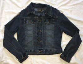 Womens Lee Jean Jacket Size Small - $14.03