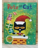 PETE THE CAT SAVES CHRISTMAS ERIC LITWIN & JAMES DEAN FICTION HARDCOVER ... - $9.85