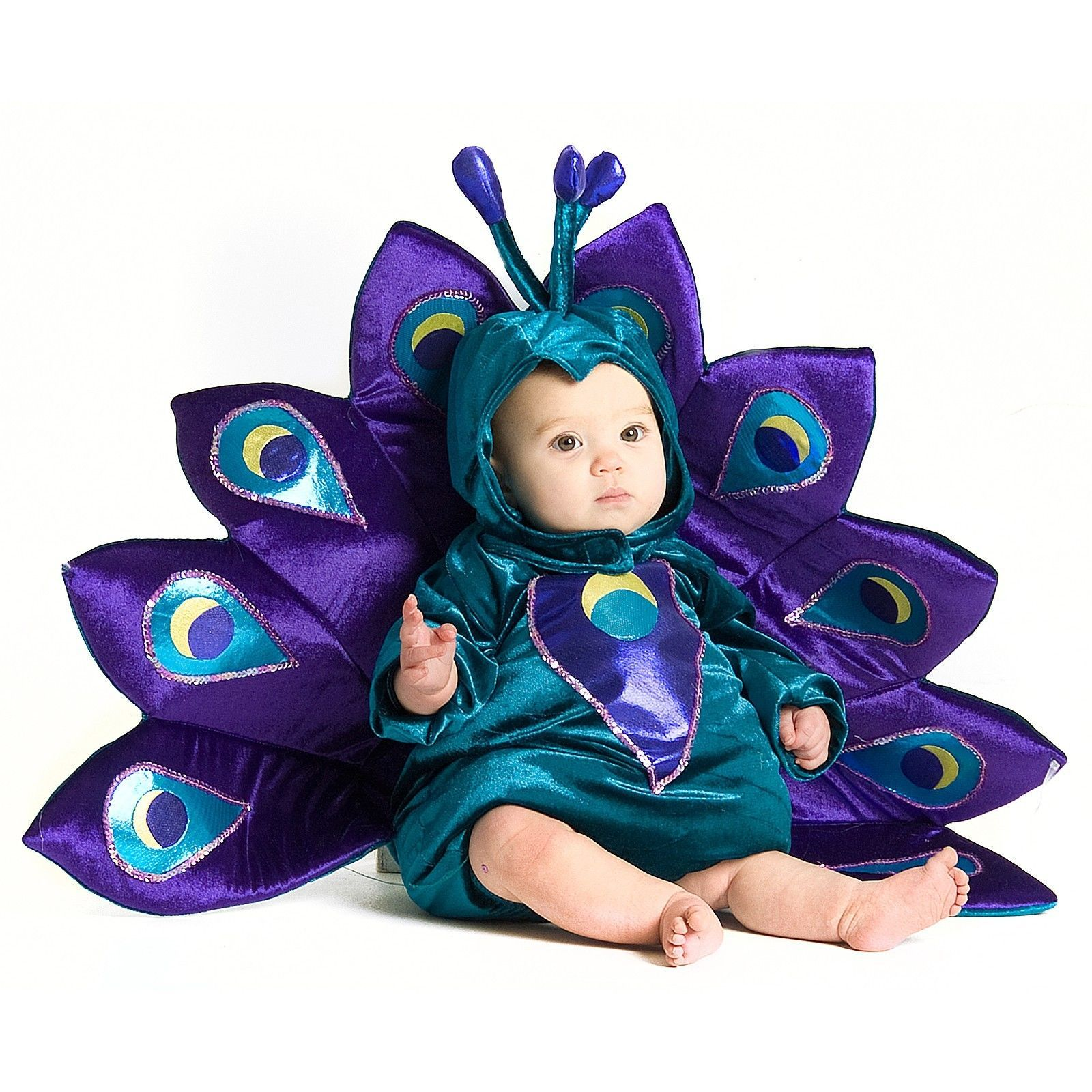 NEW NIP Baby Infant Boy or Girl 18 Months to 2T Peacock Halloween Costume