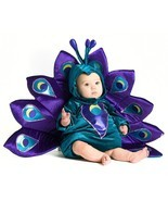 NEW NIP Baby Infant Boy or Girl 18 Months to 2T Peacock Halloween Costume - €29,72 EUR