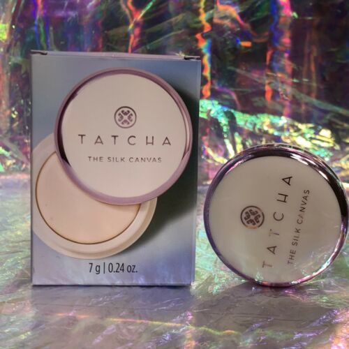 New In Box Tatcha 7g The Silk Canvas Protective Primer Prolong Makeup Wear