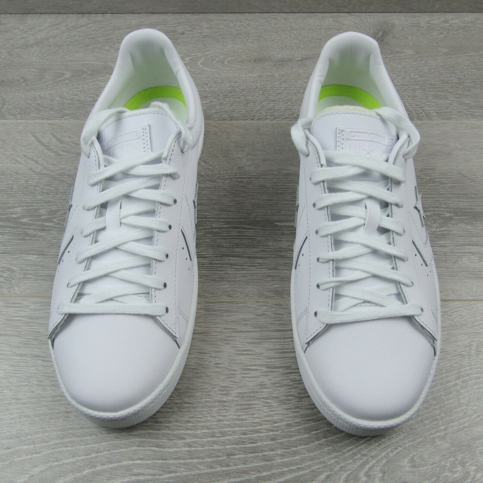 Converse Pro Leather Ox Low Triple White Shoes Size 11 Mens 155319C New image 6