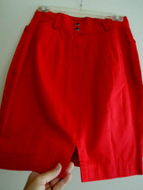Ladies Skirt Size 10 Body Con Fit Red Mini Skirt by FORENZA NWOT - $12.99