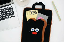 """Brunch Brother Laptop Case Bag Sleeve Pouch Briefcase 13"""" to 14"""" (Burnt Toast) image 2"""