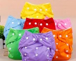 Adjustable Reusable Baby Boys Girls Cloth Diapers Soft Covers 1PC