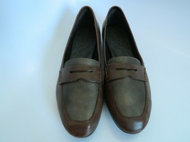 Born Womens Brown Leather Upper Slip on Shoes Size 8.5M 075823C8HF1G - $29.99