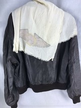 Avirex Leather Bomber Jacket 1978 Vintage US Army Air Force Mens L XL 50 Type A2 - $170.15