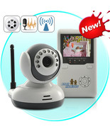 Wireless Baby Monitor with Two Way Audio and Night Vision  - $114.26