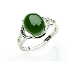 Free Shipping -  Stylish simplicity female Ring 925 Silver Ring Natural refined  - $36.99