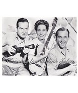 Bob Hope Dorothy Lamour Bing Crosby 8x10 Photo - $6.99