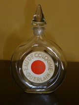"Vintage Guerlain Shalimar Bottle with Glass Stopper- 5 5/8"" - $44.00"