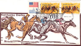 KENTUCKY DERBY 118  1992 1st Day Issue - $3.95
