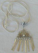 Lagona silver pendant - $33.00