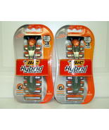 BIC Hybrid Advance Razor Disposable Pivot Tripl... - $7.52