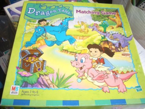 DRAGON TALES MATCHING GAME-COMPLETE