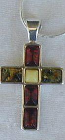 Amber cross  c2 5