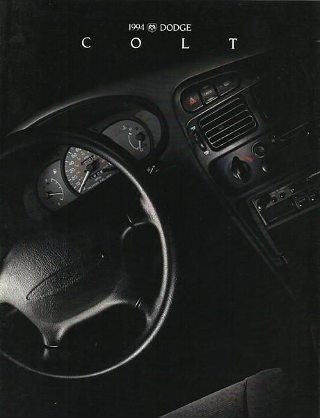 1994 Dodge COLT sales brochure catalog US 94 ES