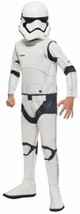 NEW Rubies Star Wars: The Force Awakens Child's Disney Stormtrooper Costume
