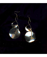 FREE WITH PURCHASE~Mod Twist And Dangle Retro Golden Earrings - $0.00