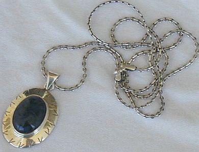 Malaysian silver pendant
