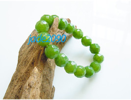 Free Shipping -  Grade AAA Natural Green Jadeite Jade charm Bracelet (adjustable - $30.00