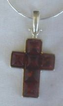 Brown amber cross thumb200
