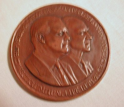 Connecticut Mutual Life Medallic Art Co. Bronze Medal