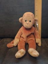Retired Ty Beanie Baby Bongo The Monkey 1995 Rare - $6.99