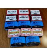 Lot of 14 Empty ALTOIDS TINS Metal Crafts Storage Geocaching - €12,58 EUR