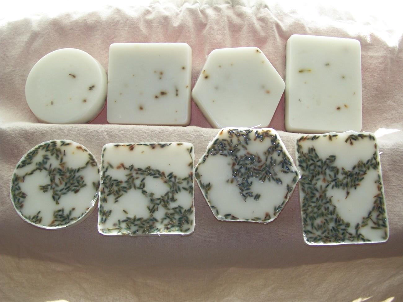 8 Bars Handmade Lavender Soap All Natural