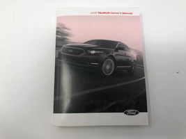 2018 Ford Taurus Owners Manual Z0L12 - $21.11