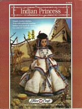 Fibre Craft 1992 pattern ~ Indian Chief & Indian princess Crochet Pattern for 16 image 2