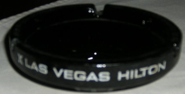 LAS VEGAS HILTON Hotel Casino Ashtray LAS VEGAS