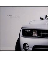 2010 Chevy Camaro Intro Brochure GM 10 Xlnt - $9.88