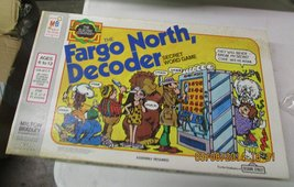 The Fargo North Decoder Secret Word Game Vintage Board - $31.67