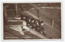 C1920 - Slide in the Salt Mine, Berchlesgaden, Bavaria - Real Photo - Unused image 1