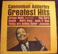 Cannonball Adderley - Greatest Hits - Riverside Records RLP 416 - $5.00