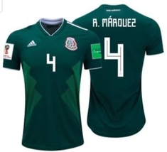NWT MÉXICO WORLD CUP RAFA MARQUEZ FAN HOME JERSEY  - $54.99