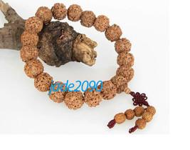 Free Shipping - Tibetan Buddhism handmade Natural Bodhi Seeds prayer beads charm - $25.99