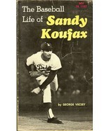 the baseball life of sandy koufax by george vecsey 1st edition - $6.98