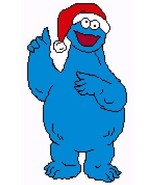 Christmas cookie monster thumbtall