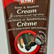 Kiwi No Buff Shine and Nourish Cream Brown NEW 1.7oz 50g Shoe Accessory - $9.99