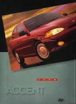 1998 Hyundai ACCENT sales brochure catalog US 98 GL GS GSi - $6.00