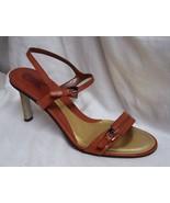 8.5M CARLOS Animal Print Tortoiseshell Buckle Shoes - $57.88