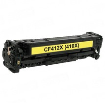 Replacement Yellow CF412X (HP 410X) High Yield Laser Toner Cartridge for... - $57.93